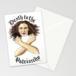 Death to the Patriarchy Stationery Cards