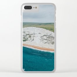 Beautiful Beach XVI Clear iPhone Case