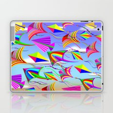 Kites Rainbow Colors in the Wind Laptop & iPad Skin