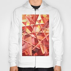 3D folded abstract Hoody