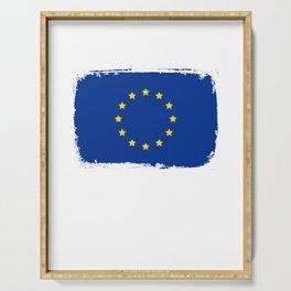 European Union Flag, EU Flag Serving Tray