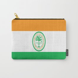 American cities-  Flag of Miami Carry-All Pouch