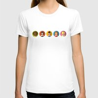 spice girls T-shirts featuring SPICE GIRLS ICONS by Chilli Cactus