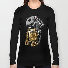 Daft Droids Long Sleeve T-shirt