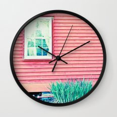 Past Perspective Wall Clock