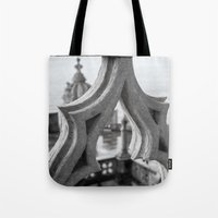architecture Tote Bags featuring Architecture by Sébastien BOUVIER
