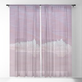 Pink Salt Sheer Curtain