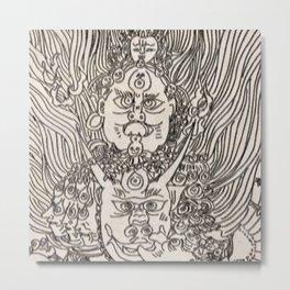 Tangka Metal Print
