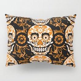 Halloween Calaveras Pillow Sham