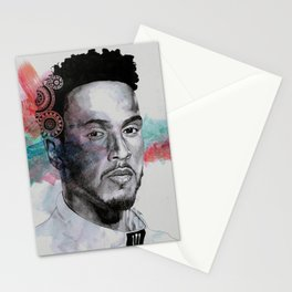 King Hammer: Tribute to Lewis Hamilton Stationery Cards