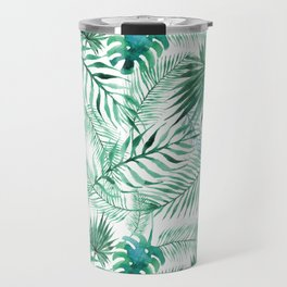 Green Tropical Mix Travel Mug