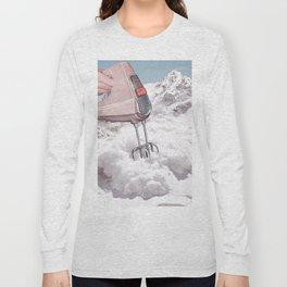 Doris Whisker II - Avalanche whipped cream Long Sleeve T-shirt