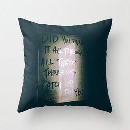 Bad Blood Throw Pillow