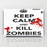 zombies iPad Cases featuring ZOMBIES by Tania Joy