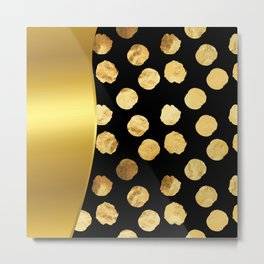It's Raining Gold!  Metal Print