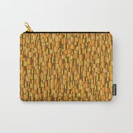 Random Gold Mosaic Background Carry-All Pouch