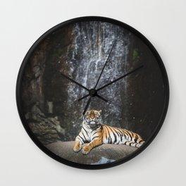 Big Cat 2 Wall Clock