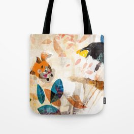 The Raven nad the Fox Tote Bag