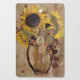 Sunflowers Cutting Board