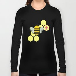 Bee Positive! Long Sleeve T-shirt