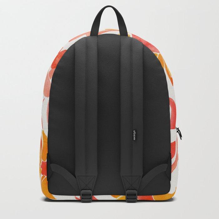 Sunflower Watercolor – Fiery Palette Backpack
