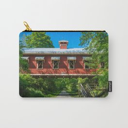Richard Eastman Covered Bridge - Yellow Springs - Ohio Carry-All Pouch