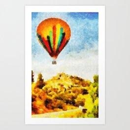 Viagem ao Léu Art Print