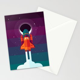 Into Spaaaace Stationery Cards