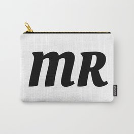 Mr in Black Carry-All Pouch
