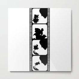 Film stripe Metal Print
