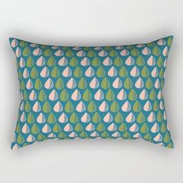 Watermelon Raindrop Rectangular Pillow