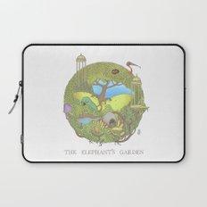 The Elephant's Garden - Version 1 Laptop Sleeve