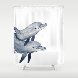 Bottlenose Shower Curtain