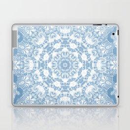 Blue and White Mandala Laptop & iPad Skin