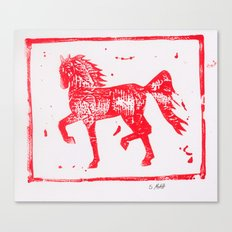 2014 Year of the Horse 2 Canvas Print