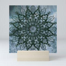 Mandala Splash Mini Art Print