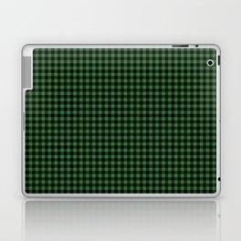 Mini Black and Dark Green Cowboy Buffalo Check Laptop & iPad Skin
