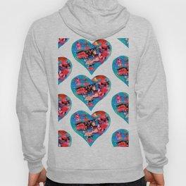 Tie-Dye Hearts Hoody