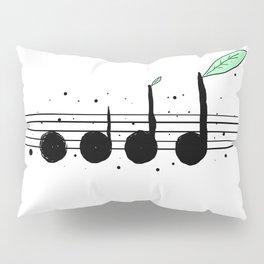 Nature & Music Pillow Sham