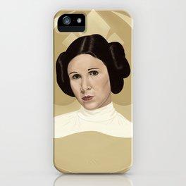 Leia iPhone Case