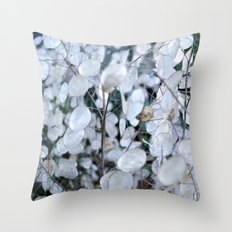 annual honesty Throw Pillow