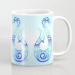 Tribal Fish Hook Coffee Mug
