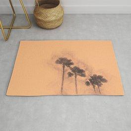 California - Palm Trees Rug