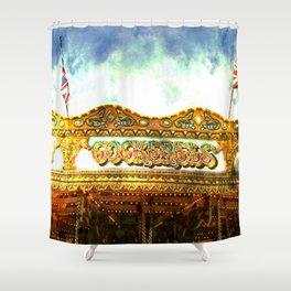 Asylum Ride Shower Curtain