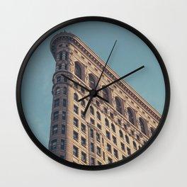 Manhattan Flatiron Building - NYC Wall Clock