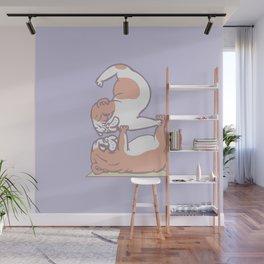 Acroyoga English Bulldog Wall Mural