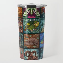The Unusual Animal Alphabet Travel Mug