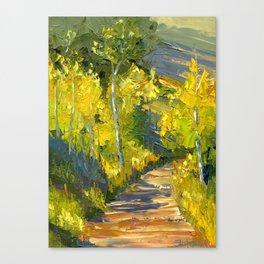 Golden Gates Canvas Print