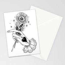 a Kind Flower Stationery Cards