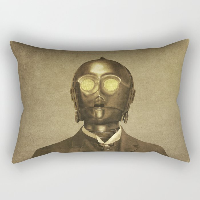 Baron Von Three PO Rectangular Pillow